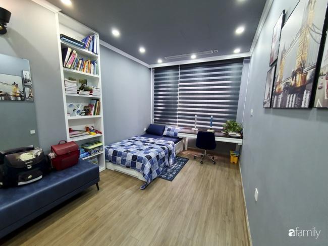 Căn hộ màu xanh với thiết kế đẳng cấp như không gian sang chảnh châu Âu trong lòng Hà Nội dành cho gia đình 3 thế hệ - Ảnh 11.