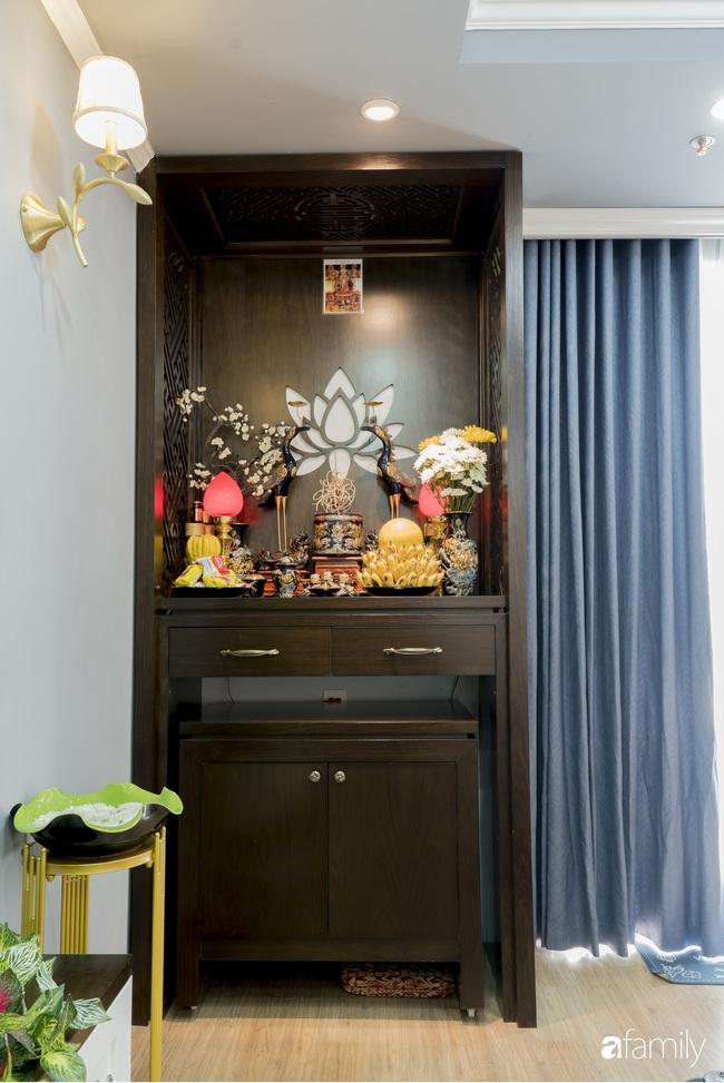 Căn hộ màu xanh với thiết kế đẳng cấp như không gian sang chảnh châu Âu trong lòng Hà Nội dành cho gia đình 3 thế hệ - Ảnh 8.