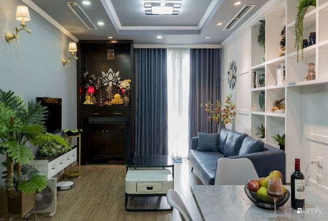 Căn hộ màu xanh với thiết kế đẳng cấp như không gian sang chảnh châu Âu trong lòng Hà Nội dành cho gia đình 3 thế hệ - Ảnh 6.