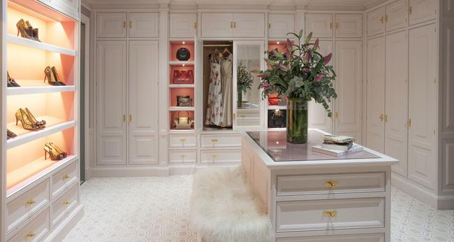 Tham khảo nhanh vài gợi ý để căn phòng thay đồ của bạn thêm hoàn mỹ - Ảnh 13.