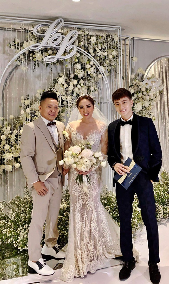 Cập nhật từ đám cưới Bảo Thy: Cô dâu chú rể cực đẹp đôi, không gian hôn lễ hoành tráng và sang trọng - Ảnh 2.