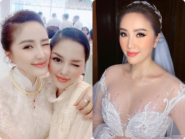 Cô dâu Bảo Thy: 2 ngày cùng tông make up nhưng lẽ rước dâu dịu dàng bao nhiêu thì đám cưới lại sắc sảo lộng lẫy bấy nhiêu - Ảnh 1.