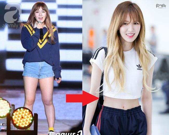Đủ chiêu giảm cân để có thân hình chuẩn idol của Red Velvet: Uống nước bí ngô, sữa đậu nành thay cơm hay nhảy dây 10.000 cái mỗi ngày - Ảnh 1.