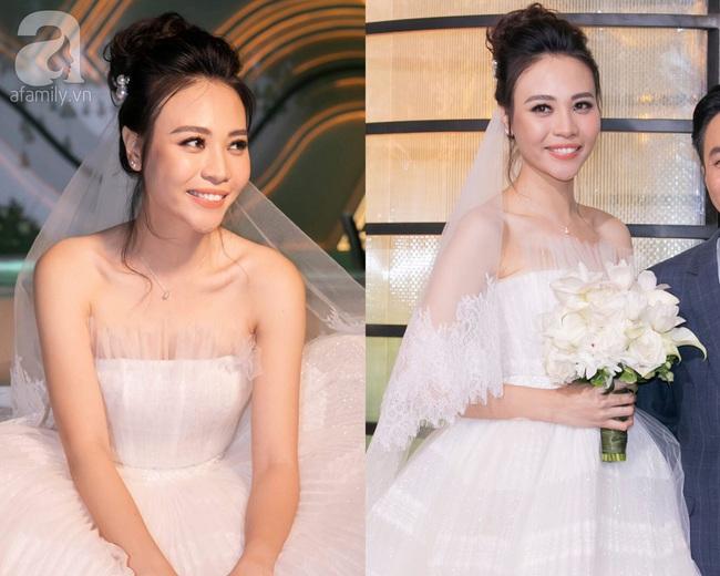 """Đến đám cưới của Bảo Thy là có thể khẳng định: Hầu hết các cô dâu showbiz đều """"đu"""" theo xu hướng trang điểm tông cam - Ảnh 4."""