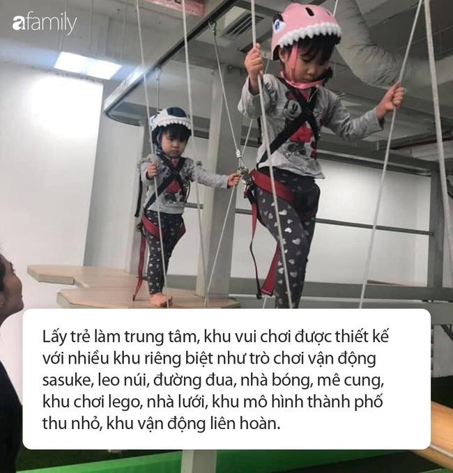"""Khám phá khu vui chơi trẻ em mới toanh ở Hà Nội: Rộng, đẹp nhưng giá cả thì hơi """"đau ví"""" - Ảnh 4."""