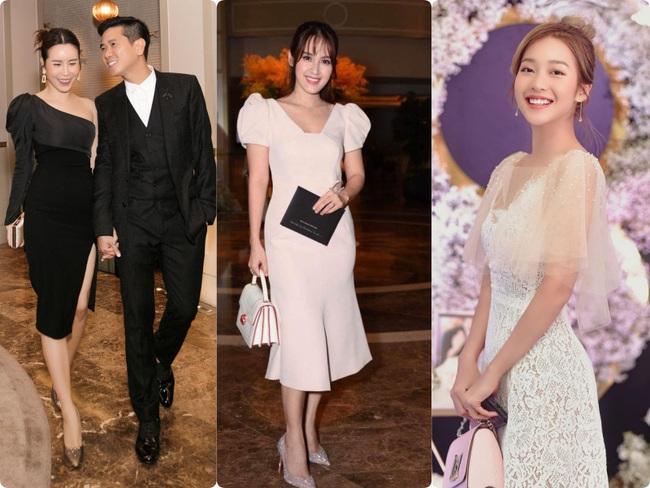 Giữa cả dàn khách mời diện đồ đúng chuẩn dress code tại lễ cưới Giang Hồng Ngọc, một mình Trang Pháp diện đồ lệch tông - Ảnh 2.