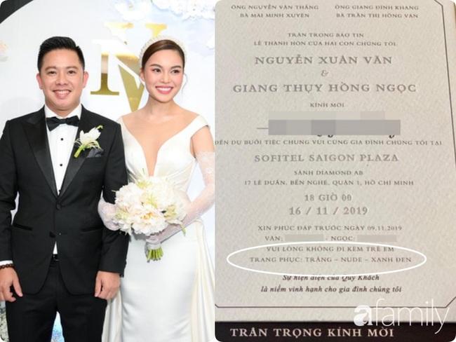 Giữa cả dàn khách mời diện đồ đúng chuẩn dress code tại lễ cưới Giang Hồng Ngọc, một mình Trang Pháp diện đồ lệch tông - Ảnh 1.
