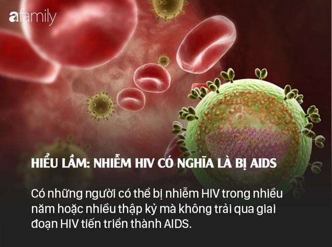 Sống chung với HIV: Những lầm tưởng và sự thật - Ảnh 2.