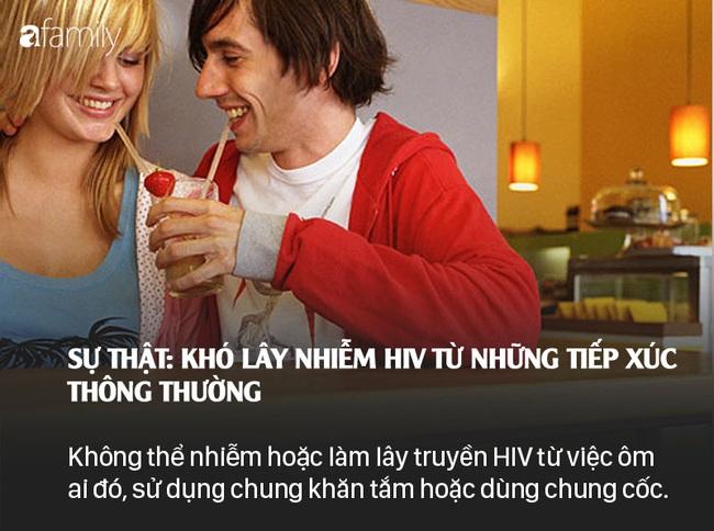 Sống chung với HIV: Những lầm tưởng và sự thật - Ảnh 3.