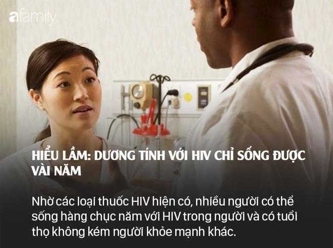 Sống chung với HIV: Những lầm tưởng và sự thật - Ảnh 4.