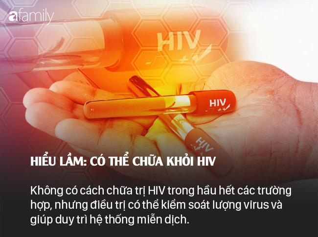 Sống chung với HIV: Những lầm tưởng và sự thật - Ảnh 6.