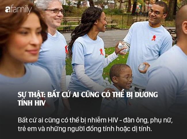 Sống chung với HIV: Những lầm tưởng và sự thật - Ảnh 7.