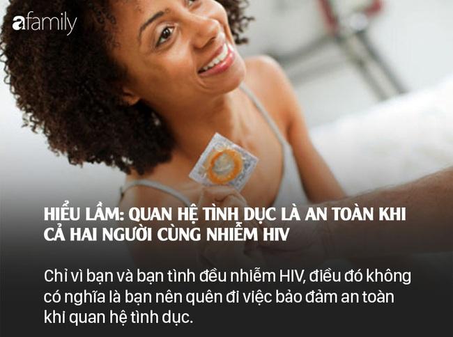 Sống chung với HIV: Những lầm tưởng và sự thật - Ảnh 8.