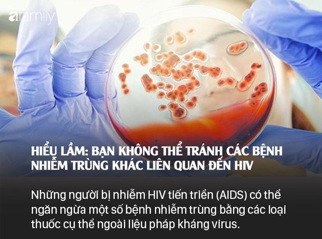 Sống chung với HIV: Những lầm tưởng và sự thật - Ảnh 10.
