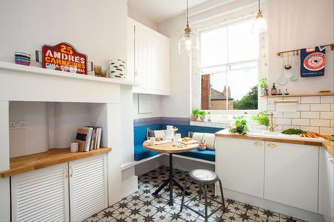 10 nhà bếp nhỏ vẫn có nơi ăn sáng đáng yêu, xinh xắn nhờ cách thiết kế thông minh - Ảnh 2.