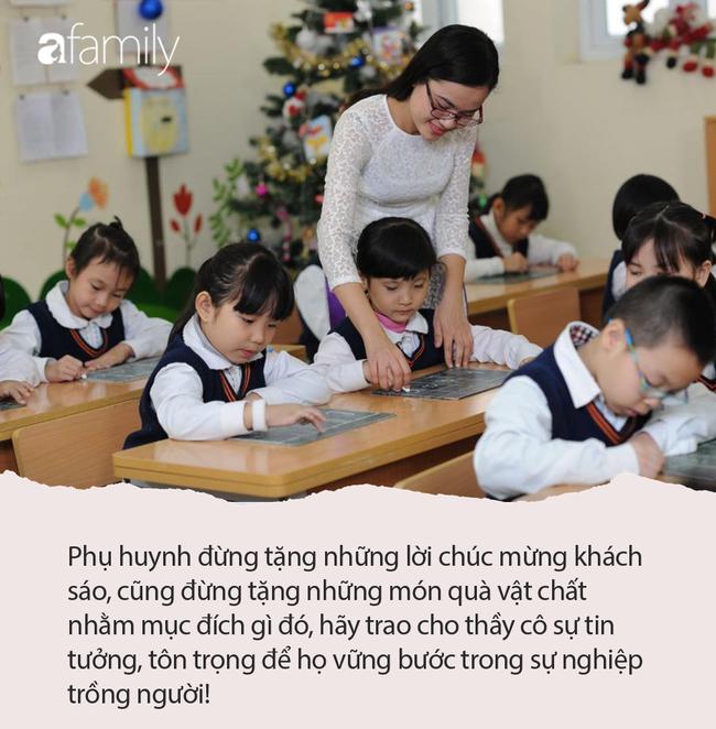 Cô giáo hạnh phúc khoe món quà nhân ngày Nhà giáo lên MXH nhưng lại bị phụ huynh chỉ trích, dân mạng phẫn nộ: Suy diễn quá nhiều! - Ảnh 6.