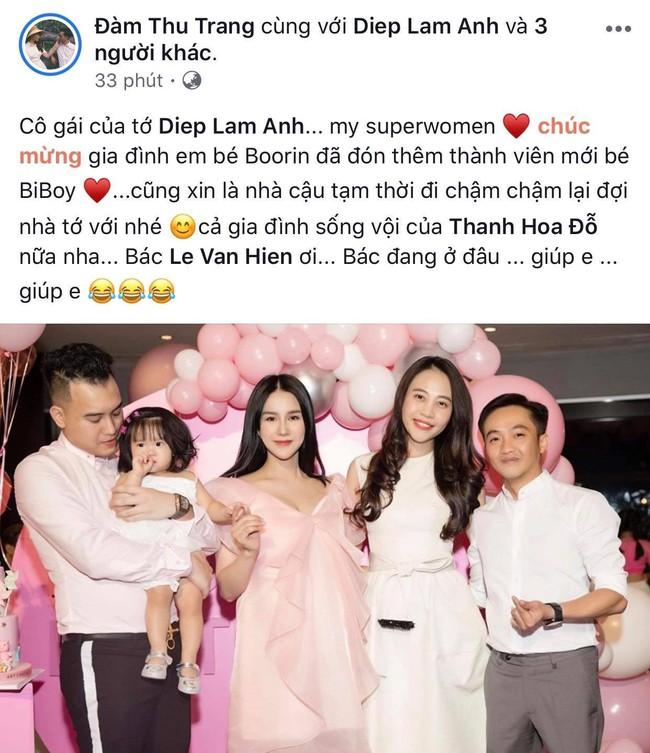 Sau hơn 3 tháng kết hôn, Đàm Thu Trang đã mang thai con đầu lòng với Cường Đô La? - Ảnh 3.