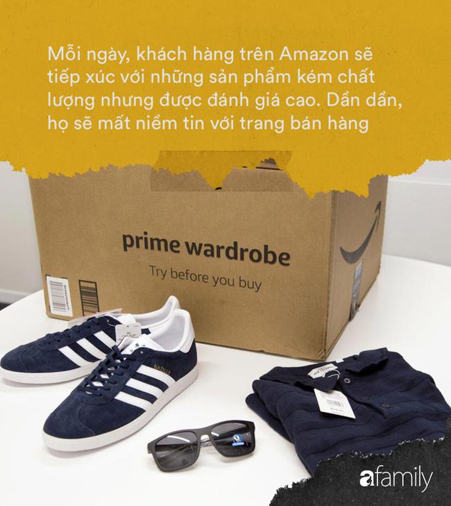 Chiêu lừa trên trang bán hàng trực tuyến Amazon: Đừng quá tin review bởi nhận xét tích cực và đánh giá 5 sao dễ dàng bị làm giả để kích thích khách hàng mua sắm - Ảnh 7.