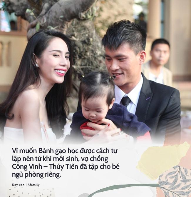 Bận trăm công nghìn việc, đây là cách vợ chồng Lý Hải Minh Hà cùng loạt sao Việt đình đám rèn con tự lập từ nhỏ - Ảnh 4.