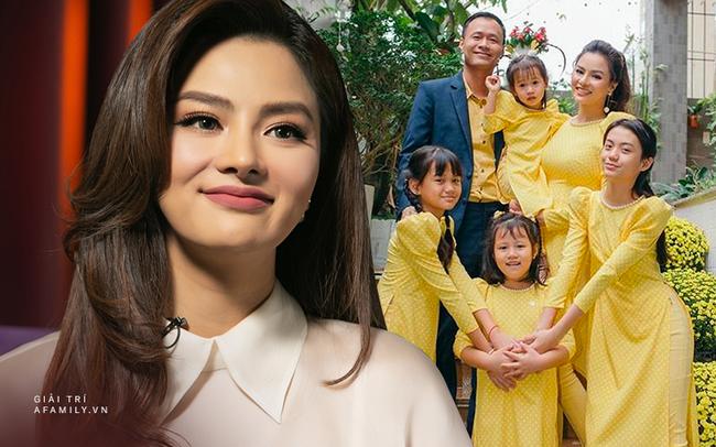 Vũ Thu Phương: Lấy chồng đại gia Campuchia, nuôi 2 con riêng, có mâu thuẫn là mời mẹ chồng - em chồng ra nói chuyện  - Ảnh 1.