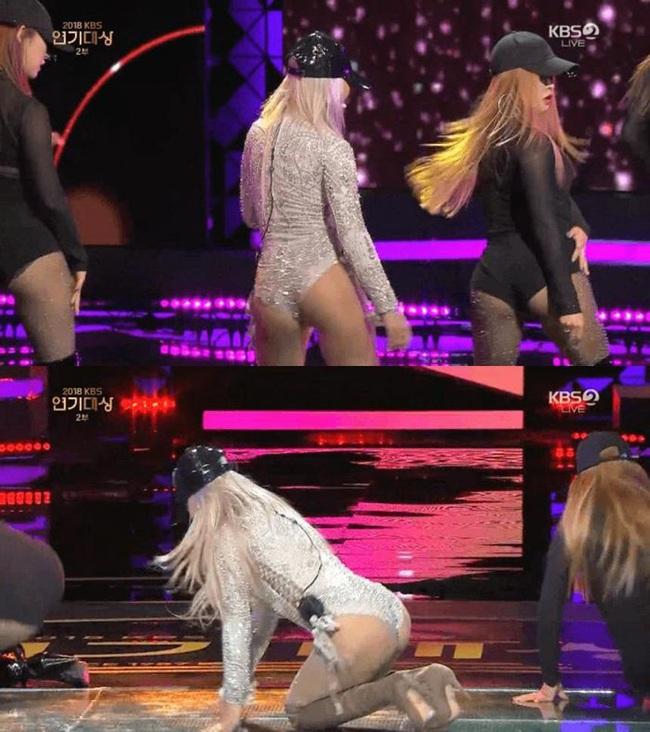 Những màn khoe thân gây nhức nhối trên sân khấu của các idol xứ Hàn - Ảnh 2.