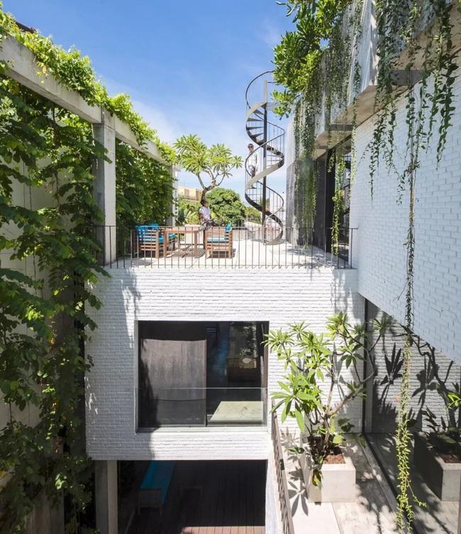 Ngôi nhà đầy gió tự nhiên, cây xanh và ánh sáng thân thiện với môi trường dành cho gia đình 5 người ở Đà Nẵng - Ảnh 13.