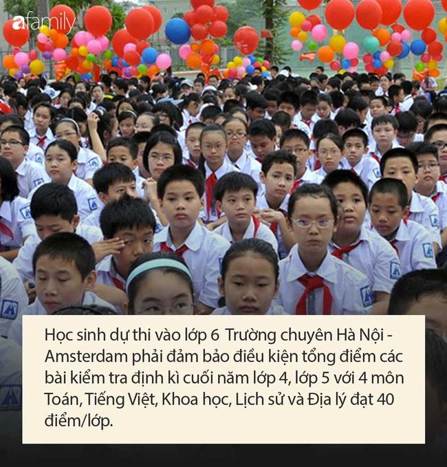 Điều kiện dự thi vào lớp 6 Trường THPT chuyên Hà Nội - Amsterdam, bố mẹ cân nhắc trước khi quyết định cho con theo học - Ảnh 5.