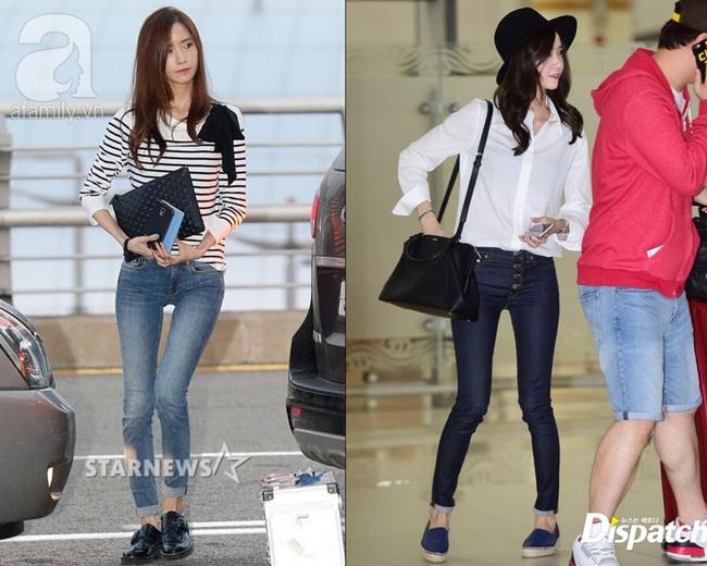 Cả Yoona lẫn Ryujin (ITZY) đều bị lộ chân vòng kiềng bởi một kiểu quần, nàng chân cong nên tránh ngay - Ảnh 1.