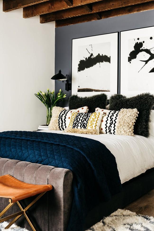 Đông đã sang đừng quên sửa soạn cho căn phòng ngủ gia đình thêm ấm cúng - Ảnh 4.