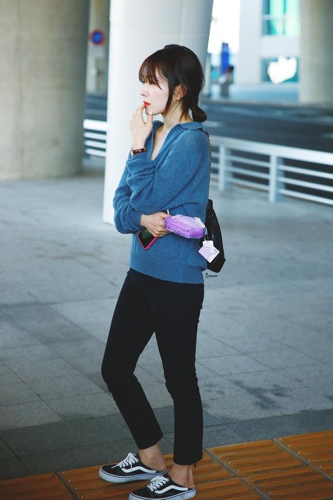 11 ý tưởng diện áo len từ Irene (Red Velvet): Toàn đơn giản mà sao vẫn thanh lịch và thời thượng đến thế! - Ảnh 5.