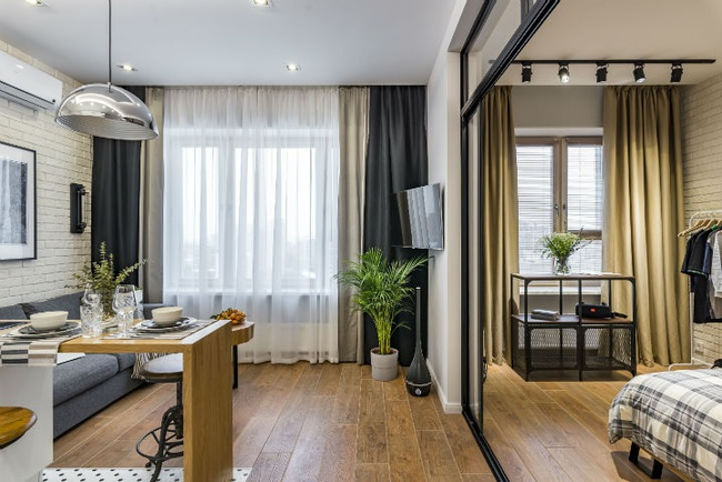 """Ngắm nội thất """"siêu mượt"""" cho căn hộ nhỏ chỉ 25m2 -  Ảnh 10."""