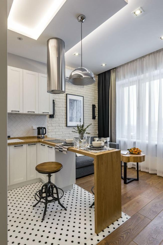 """Ngắm nội thất """"siêu mượt"""" cho căn hộ nhỏ chỉ 25m2 - ảnh 2"""