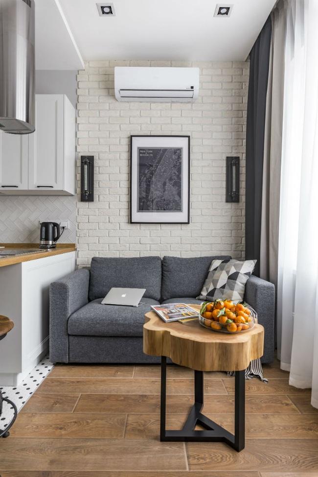 """Ngắm nội thất """"siêu mượt"""" cho căn hộ nhỏ chỉ 25m2 - - Ảnh 5."""