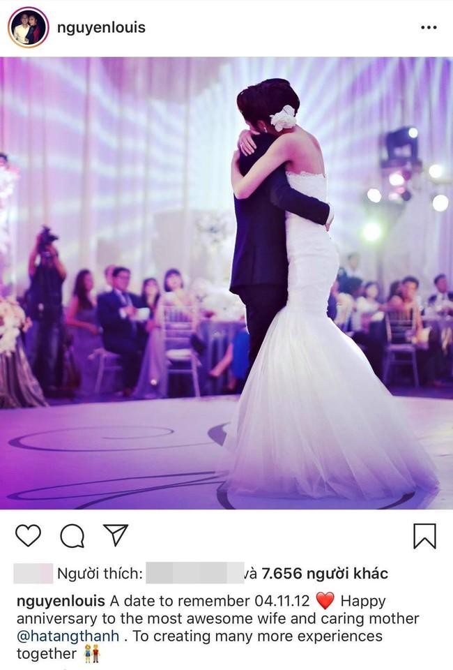 Hình ảnh hiếm hoi trong đám cưới cách đây 7 năm của Tăng Thanh Hà được chính Louis Nguyễn tiết lộ - Ảnh 2.