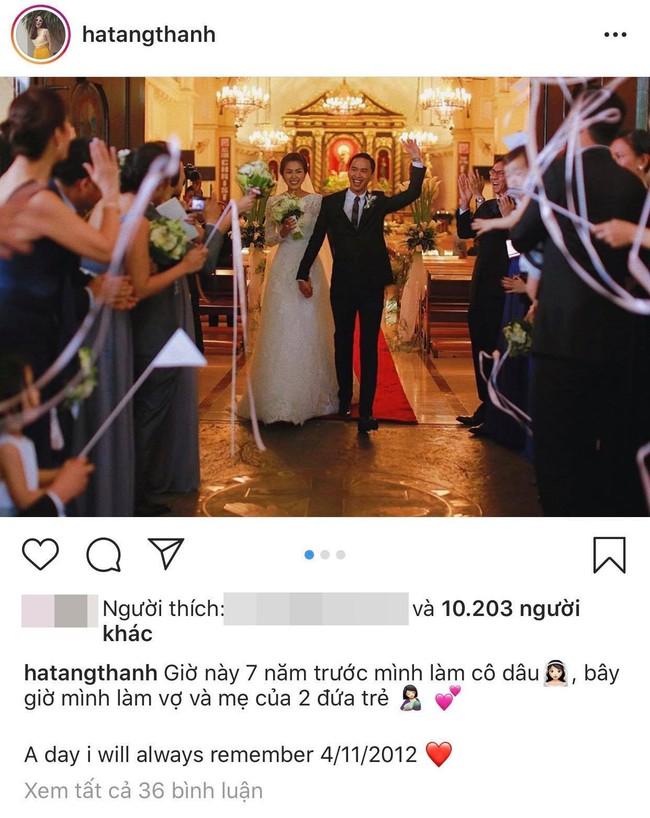 Hình ảnh hiếm hoi trong đám cưới cách đây 7 năm của Tăng Thanh Hà được chính Louis Nguyễn tiết lộ - Ảnh 3.