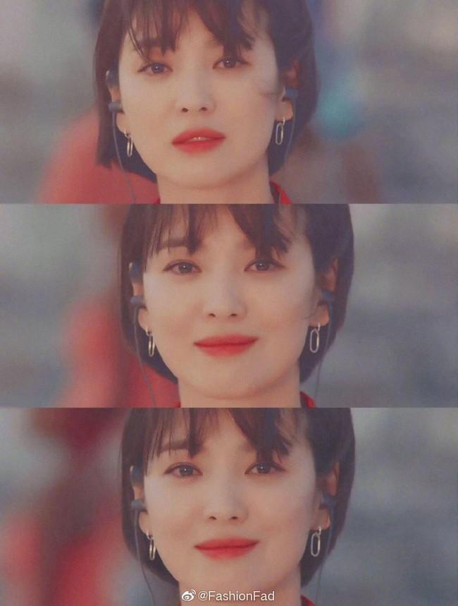 Tranh cãi Song Hye Kyo khi để tóc ngắn: Người khen đẹp, người kêu nam tính, thậm chí còn giống Lee Min Ho? - Ảnh 5.