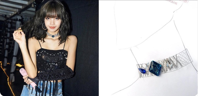 Lisa diện bikini do thương hiệu của Công chúa Thái Lan thiết kế, nửa kín nửa hở mà sexy quá đỗi - Ảnh 6.
