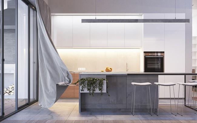 Tư vấn thiết kế nội thất phù hợp cho nhà phố với diện tích xây dựng 5x8m có tổng chi phí là  - Ảnh 8.