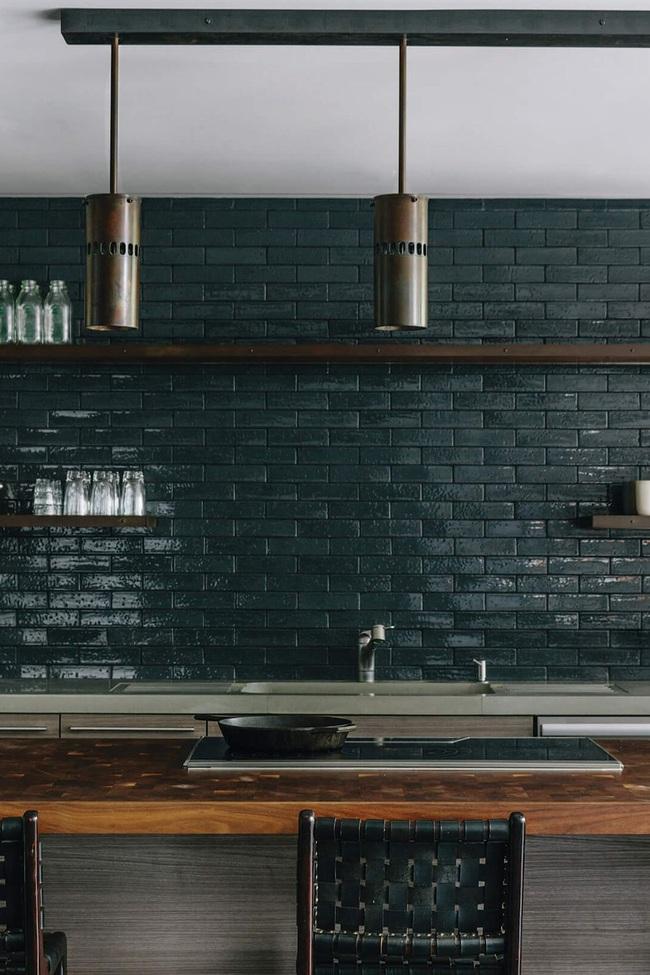 15 ý tưởng sử dụng gạch tàu điện ngầm để sở hữu nhà bếp đẹp đến ngỡ ngàng - Ảnh 15.