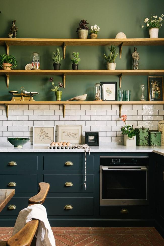 15 ý tưởng sử dụng gạch tàu điện ngầm để sở hữu nhà bếp đẹp đến ngỡ ngàng - Ảnh 2.
