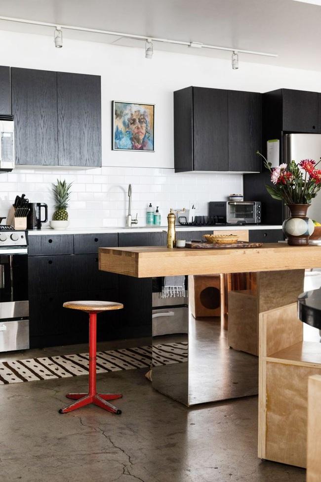 15 ý tưởng sử dụng gạch tàu điện ngầm để sở hữu nhà bếp đẹp đến ngỡ ngàng - Ảnh 3.