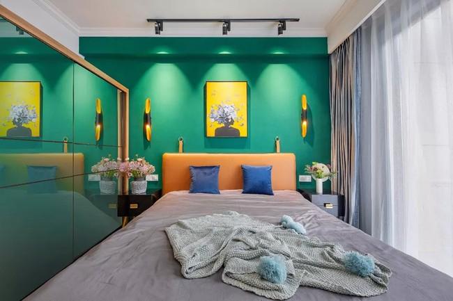 Căn hộ 89m2 đẹp như tranh vẽ của gia chủ yêu những màu xanh - Ảnh 14.