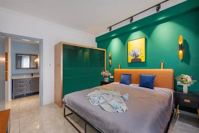Căn hộ 89m2 đẹp như tranh vẽ của gia chủ yêu những màu xanh - Ảnh 13.