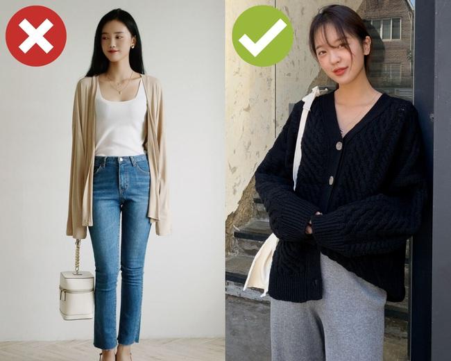 """Chị em không nên """"cà thẻ"""" cho 3 kiểu cardigan sau, trông không xấu tệ hại nhưng chẳng khiến style khá hơn - Ảnh 1."""