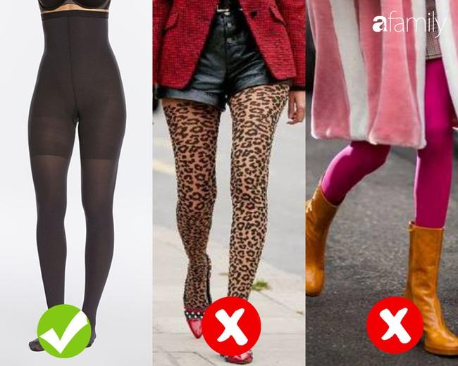 """4 kiểu quần tất sẽ khiến các chị em trông thật """"ngớ ngẩn"""" trong mắt đàn ông  - Ảnh 3."""