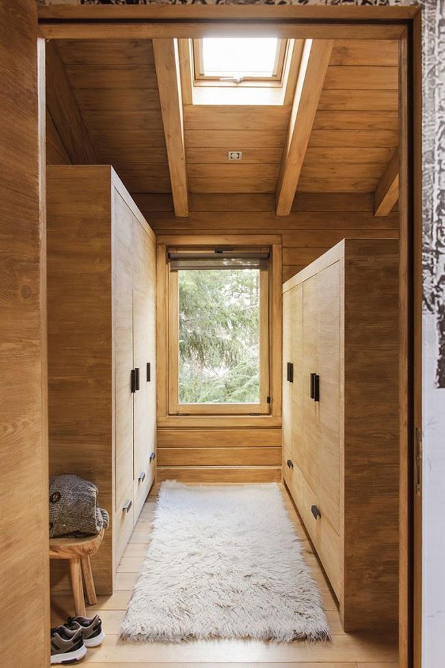Thiết kế nhà gỗ cho ngôi nhà luôn ấm áp trong những ngày đông lạnh giá - Ảnh 10.