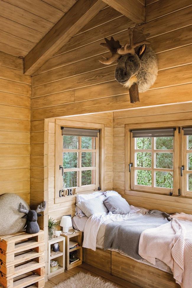 Thiết kế nhà gỗ cho ngôi nhà luôn ấm áp trong những ngày đông lạnh giá - Ảnh 11.