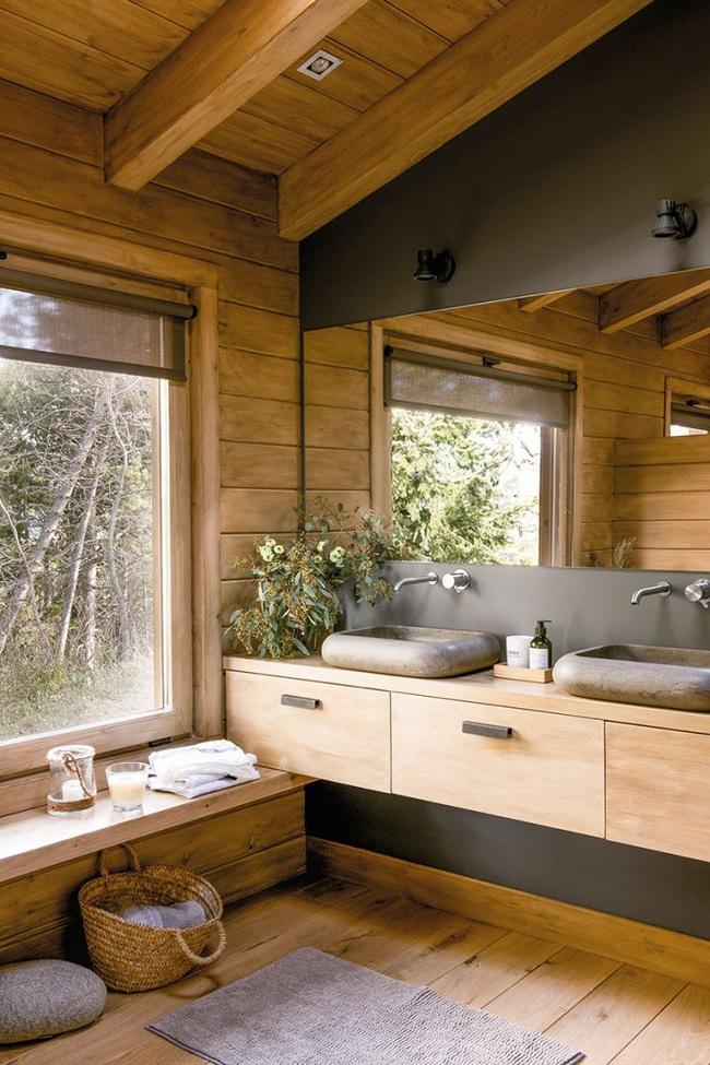 Thiết kế nhà gỗ cho ngôi nhà luôn ấm áp trong những ngày đông lạnh giá - Ảnh 12.