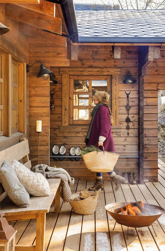 Thiết kế nhà gỗ cho ngôi nhà luôn ấm áp trong những ngày đông lạnh giá - Ảnh 13.