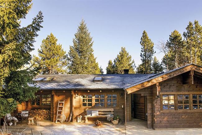 Thiết kế nhà gỗ cho ngôi nhà luôn ấm áp trong những ngày đông lạnh giá - Ảnh 14.
